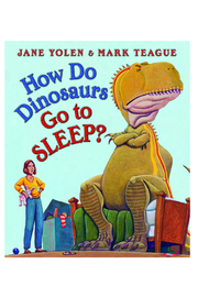 Scholastic How Do Dinosaurs Go To Sleep Board Book - Product Mini Image