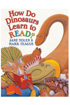Scholastic How Do Dinosaurs Learn To Read? - Alternate List Image