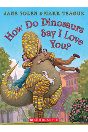 Scholastic How Do Dinosaurs Say I Love You Hardcover Book - Product Mini Image