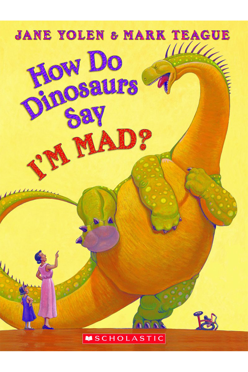 Scholastic How Do Dinosaurs Say I'm Mad Hardcover Book - Main Image
