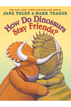 Scholastic How Do Dinosaurs Stay Friends Hardcover Book - Alternate List Image
