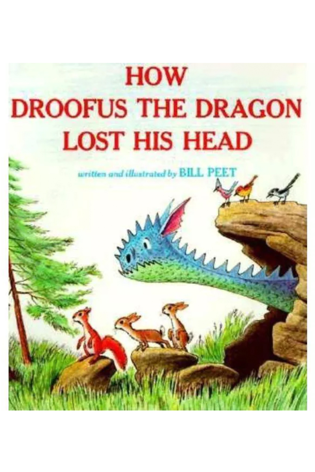 Houghton Mifflin Harcourt  How Droofus The Dragon Lost His Head - Main Image