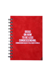 MERIWETHER How to be Less Condescending Journal - Product Mini Image