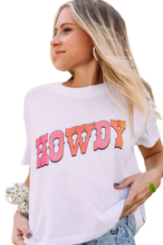 Charlie Southern Howdy Tee - Product Mini Image