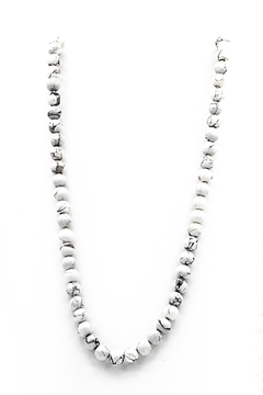 Made It! Howlite Stone Necklace - Alternate List Image