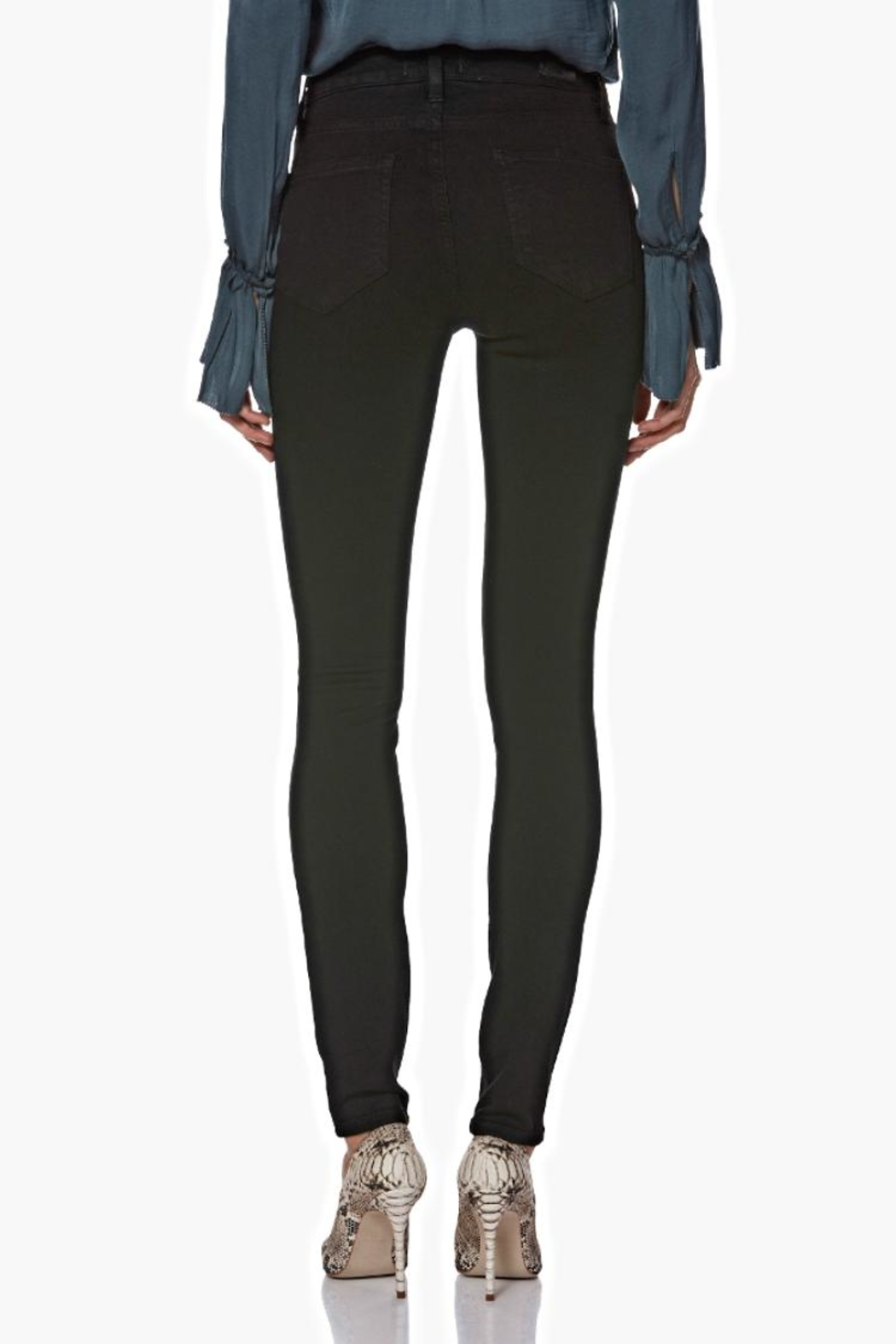 Paige Hoxton Ultra Skinny - Back Cropped Image