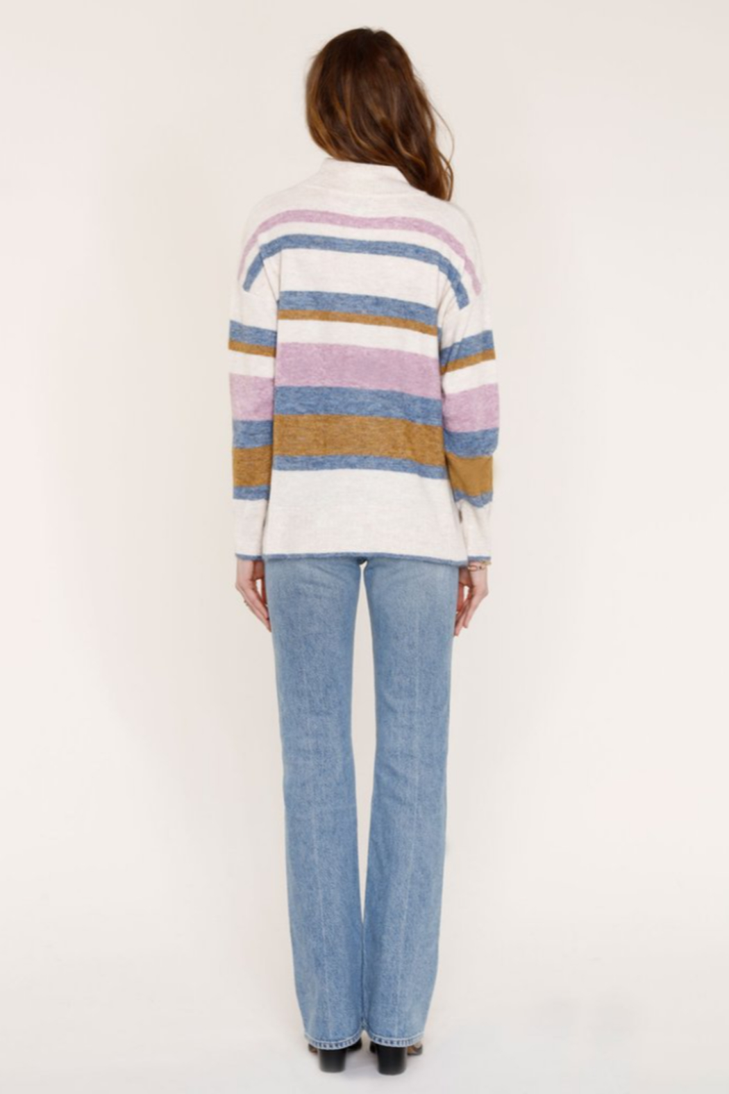 Heartloom HRT - CHARINA STRIPE SWEATER - Side Cropped Image