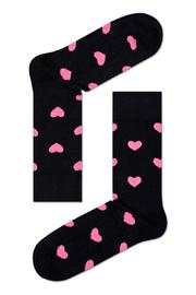 HS by Happy Socks Pink Hearts Socks - Product Mini Image