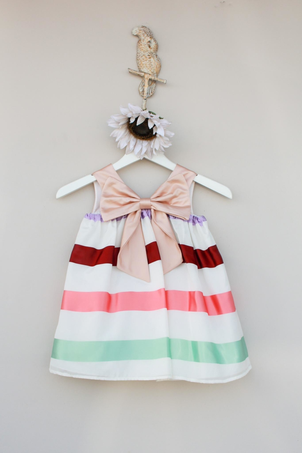 Hucklebones Trapeze Striped Dress - Main Image
