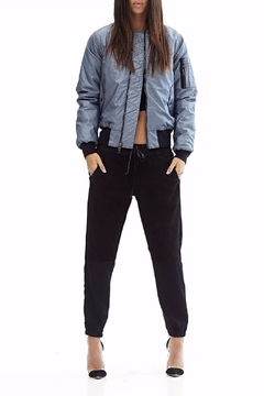 Hudson Gene Metallic Bomber Jacket - Product List Image
