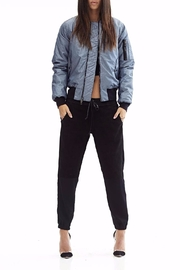 Hudson Gene Metallic Bomber Jacket - Product Mini Image