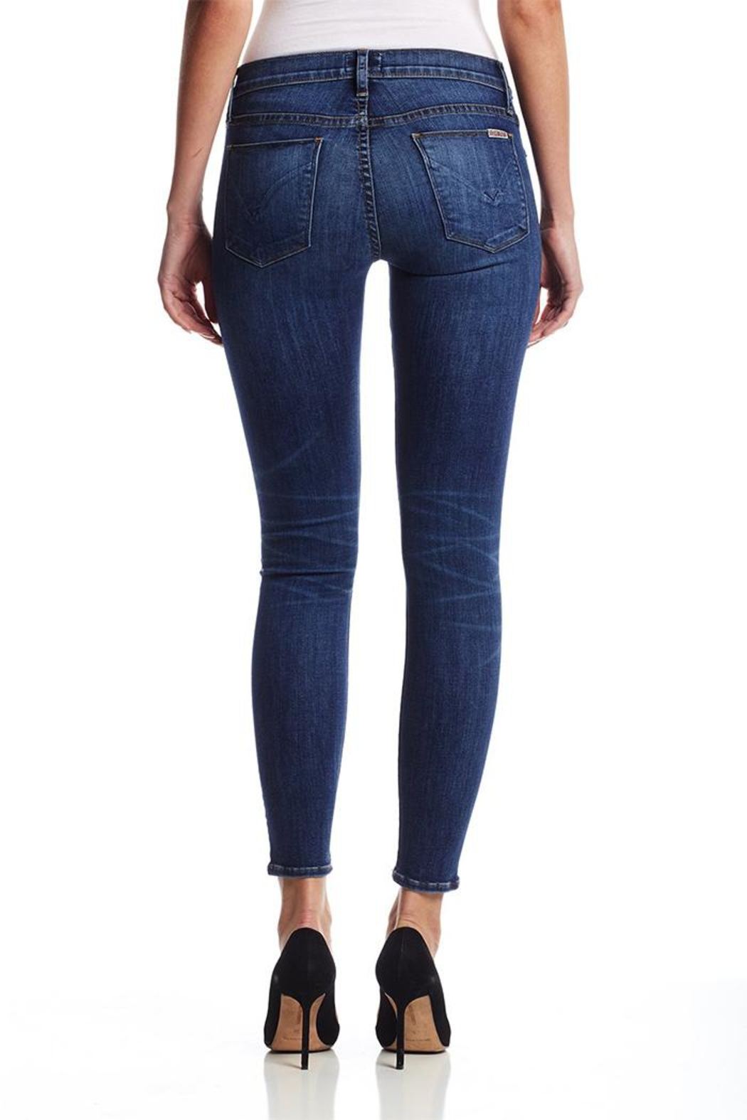 Hudson Krista Ankle Jeans - Side Cropped Image