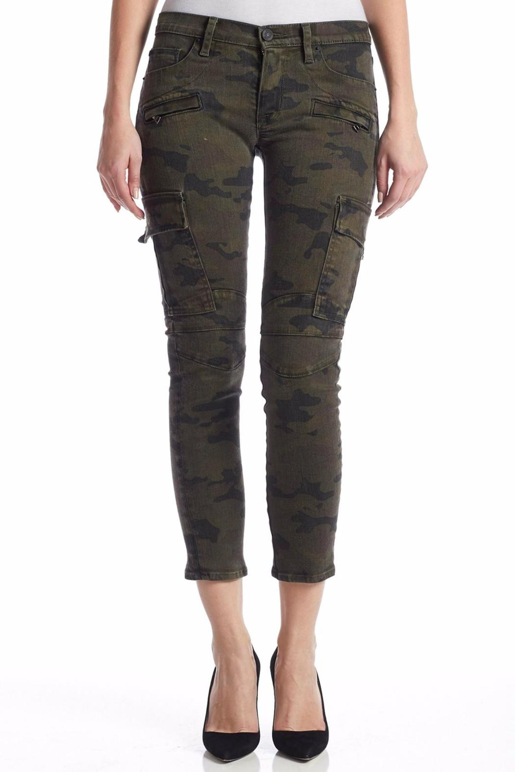 Hudson Rustic Camo Pants - Side Cropped Image