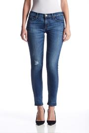Hudson Skinny Blue Jeans - Product Mini Image