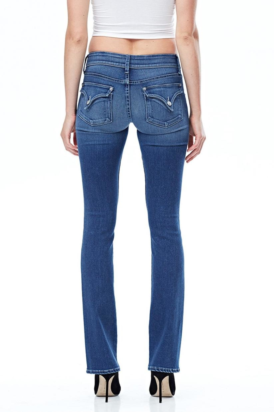 Hudson Jeans Beth Baby Boot Jeans - Side Cropped Image