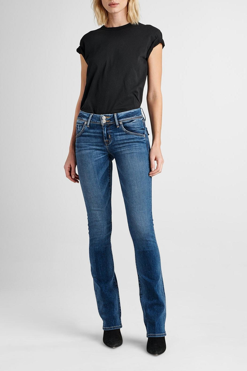 Hudson Jeans Beth Baby-Bootcut Impala - Front Full Image