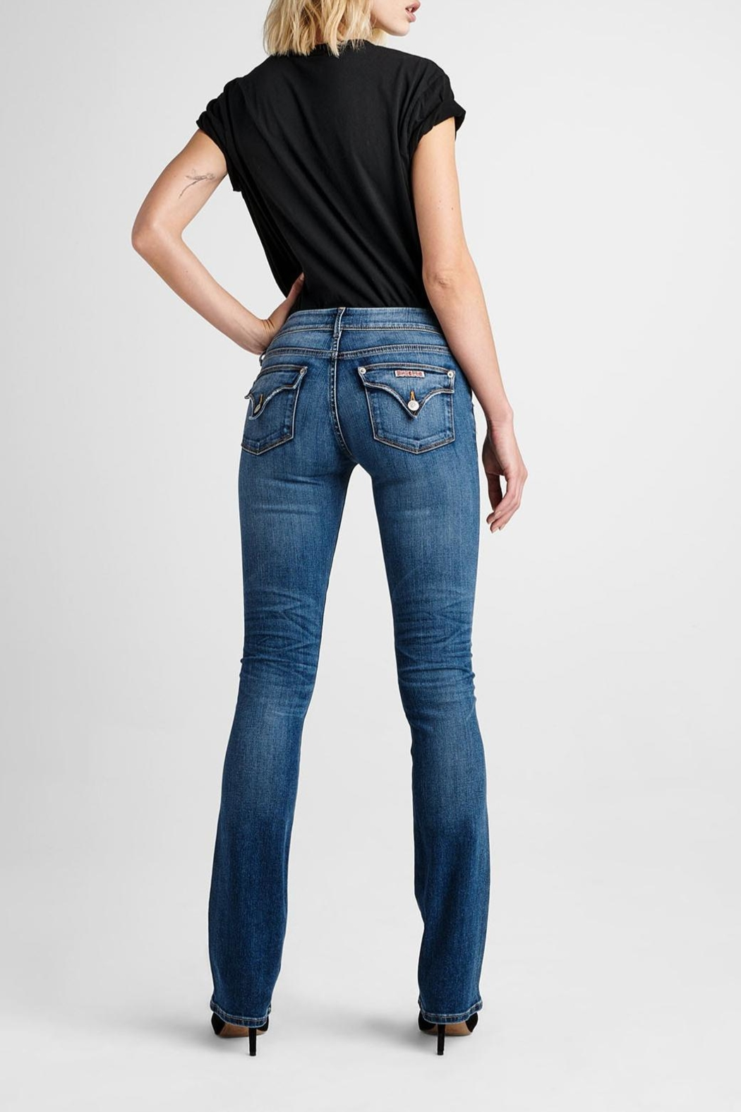 Hudson Jeans Beth Baby-Bootcut Impala - Front Cropped Image