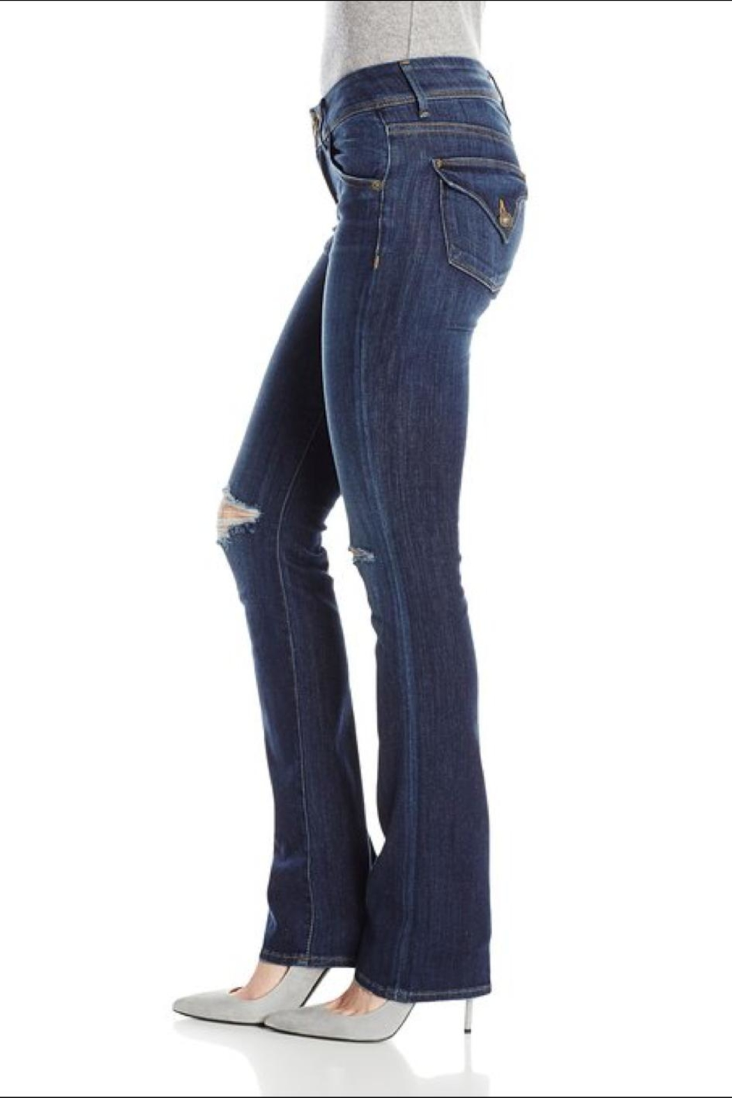 Hudson Jeans Beth Baby-Bootcut Convoy - Front Full Image