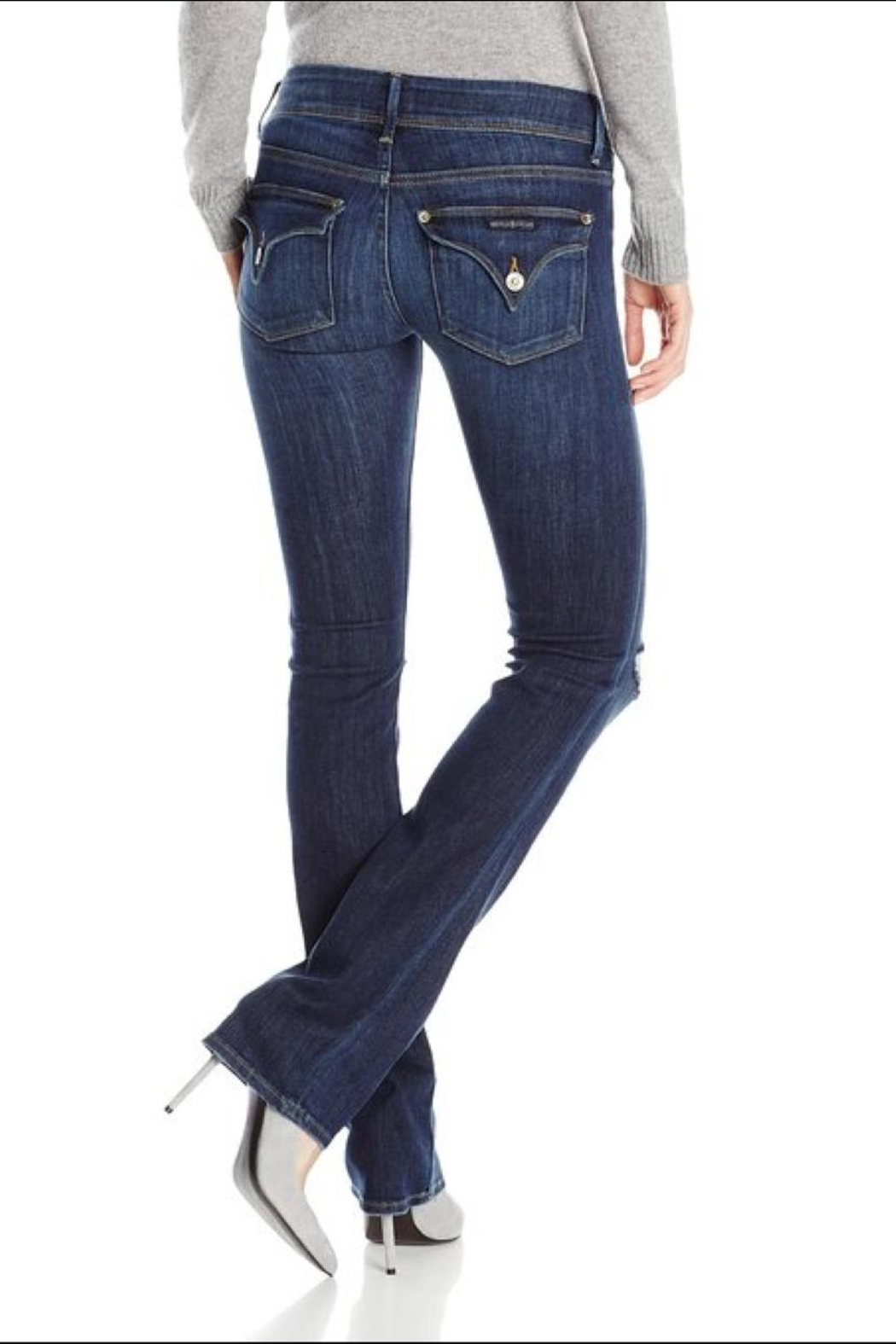 Hudson Jeans Beth Baby-Bootcut Convoy - Side Cropped Image