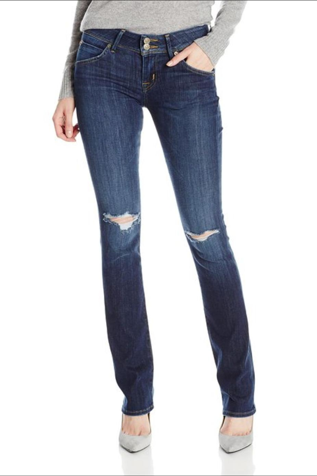 Hudson Jeans Beth Baby-Bootcut Convoy - Main Image
