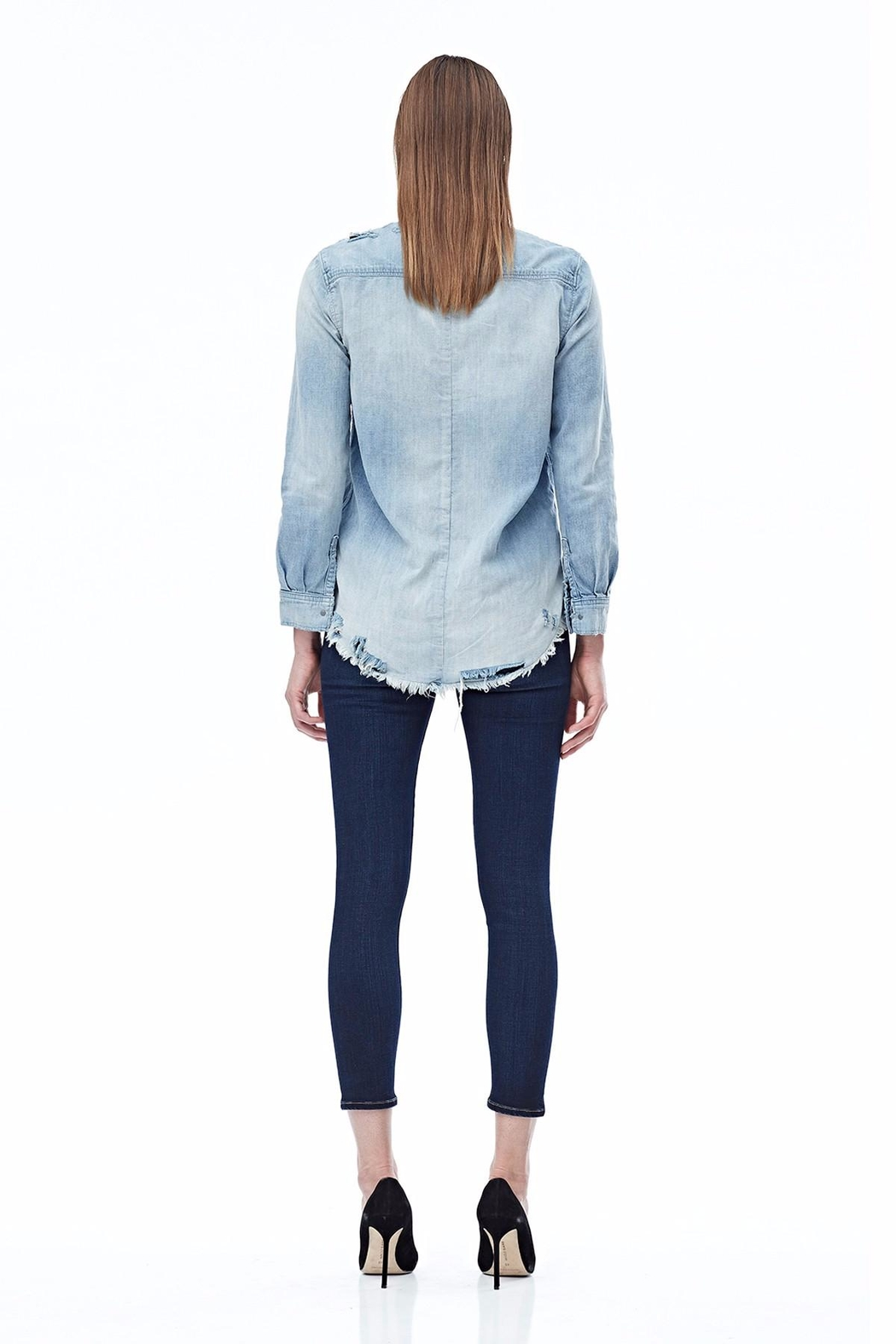 Hudson Jeans Bijou Button Up Shirt - Side Cropped Image