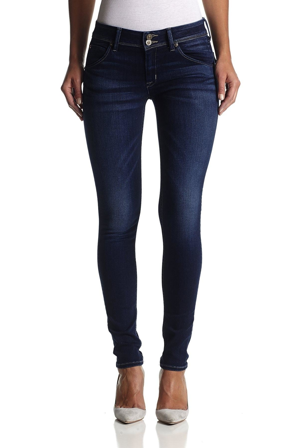 Hudson Jeans Collin Skinny Jeans - Main Image