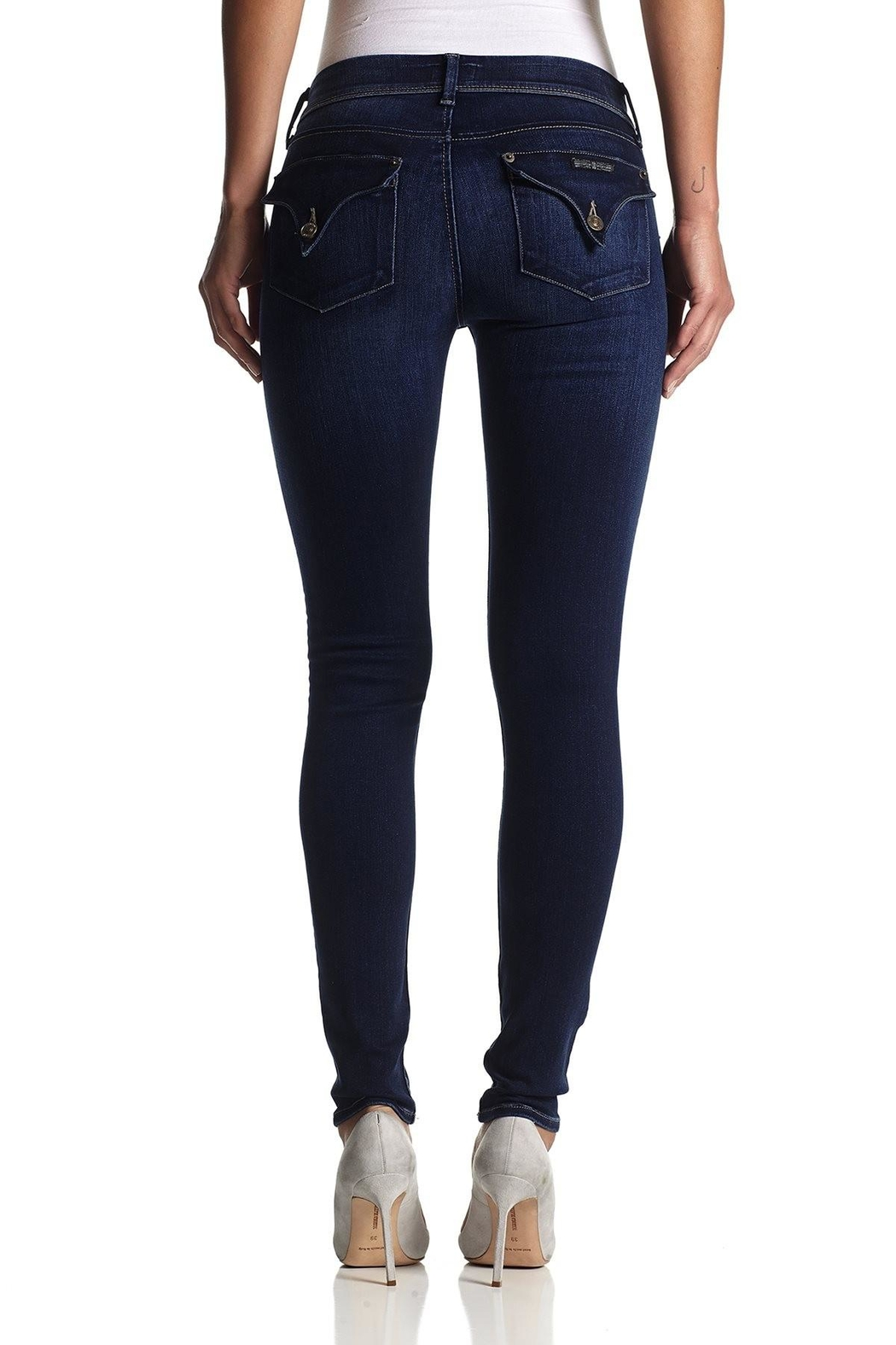 Hudson Jeans Collin Skinny Jeans - Side Cropped Image