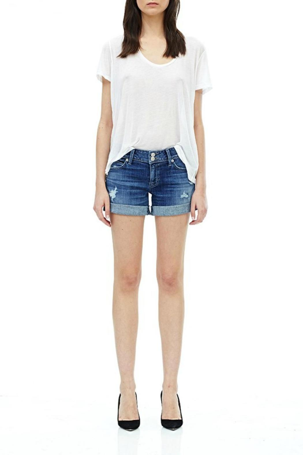 Hudson Jeans Croxley Short High Hopes - Front Cropped Image