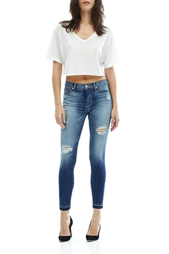 Shoptiques Product: Destructed Skinny Ankle Jean