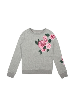 Shoptiques Product: Floral Embroidered Pullover