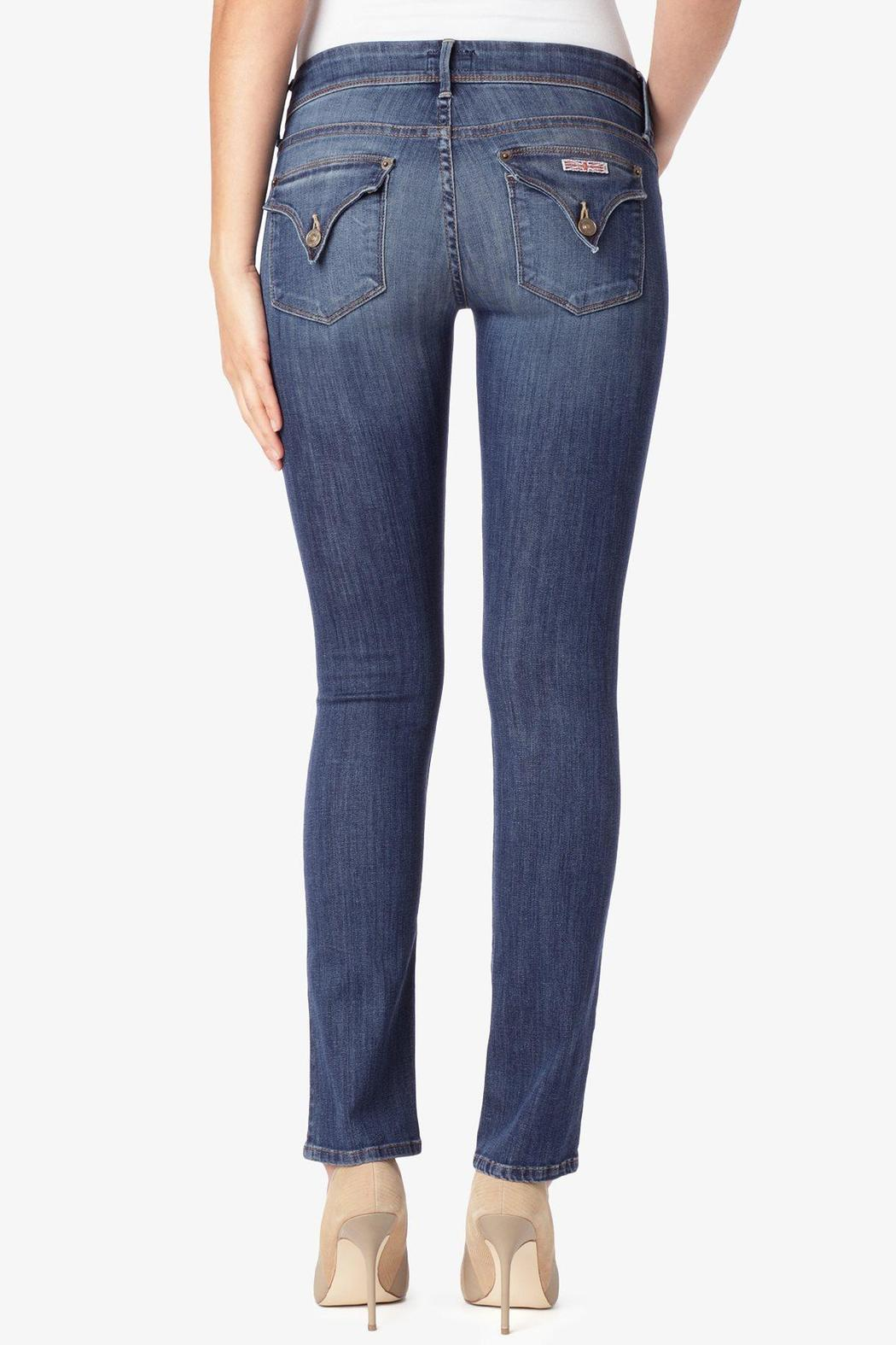 Hudson Jeans Ginny Straight Loveless Jeans - Front Cropped Image