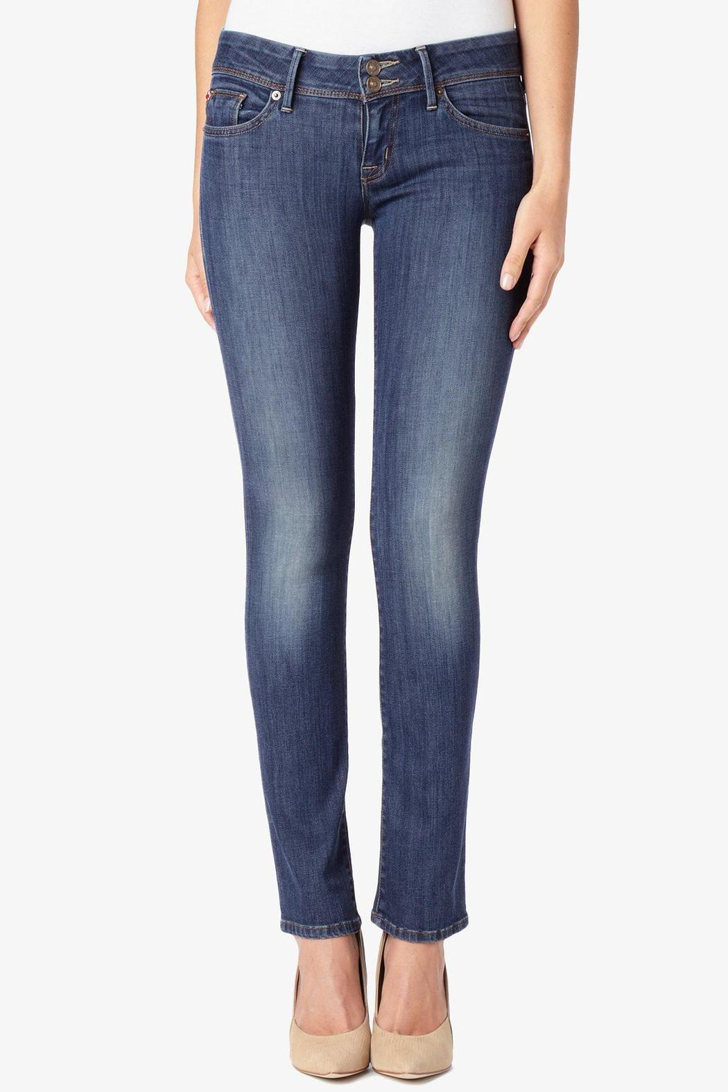 Hudson Jeans Ginny Straight Loveless Jeans - Side Cropped Image