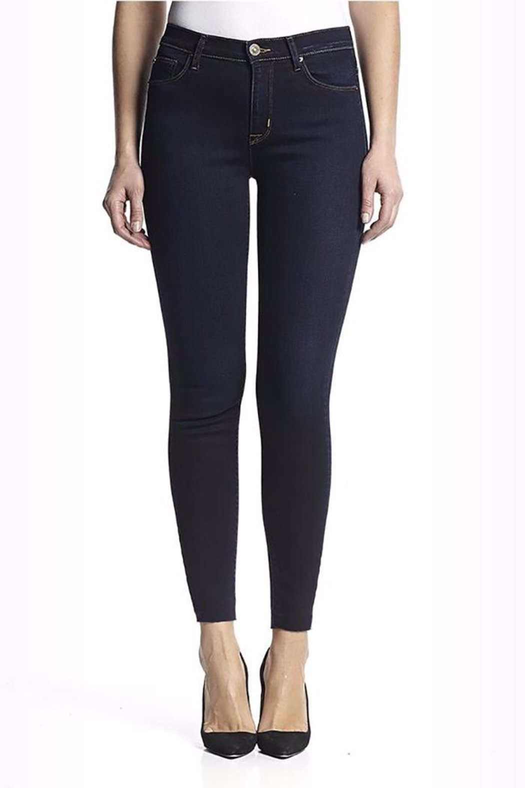 Hudson Jeans Hudson Barbara High-Rise - Front Cropped Image
