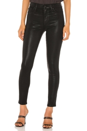 Hudson Jeans Barbara Ankle Super Skinny Coated Denim - Product Mini Image