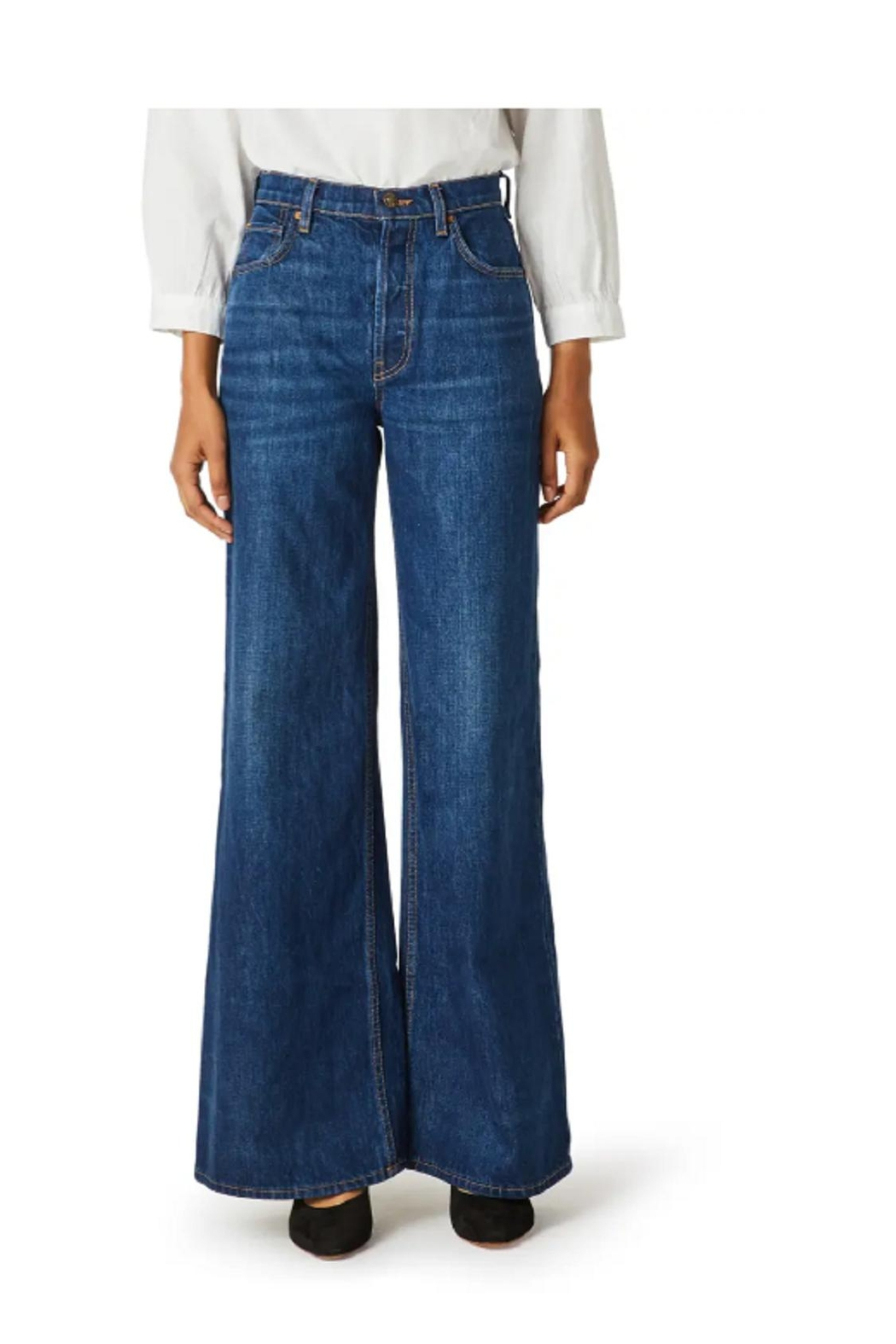 Hudson Jeans Hudson Nora Highrise Jeans - Front Cropped Image
