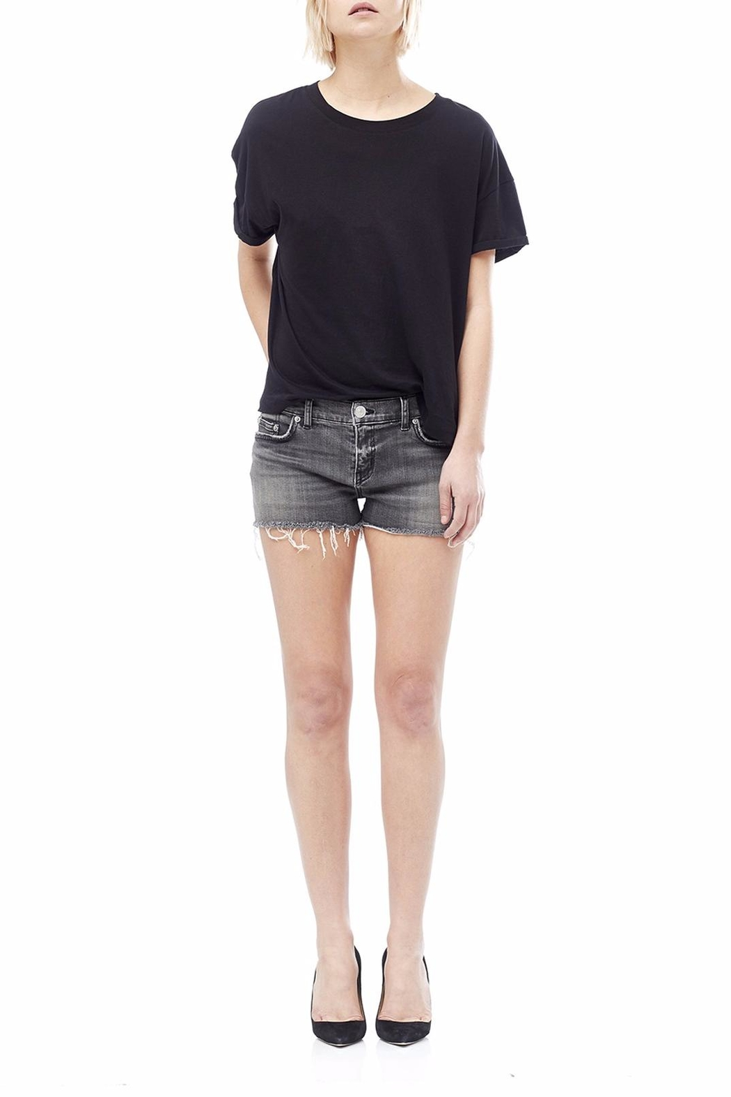 Hudson Jeans Kenzie Cut Off Shorts - Front Cropped Image