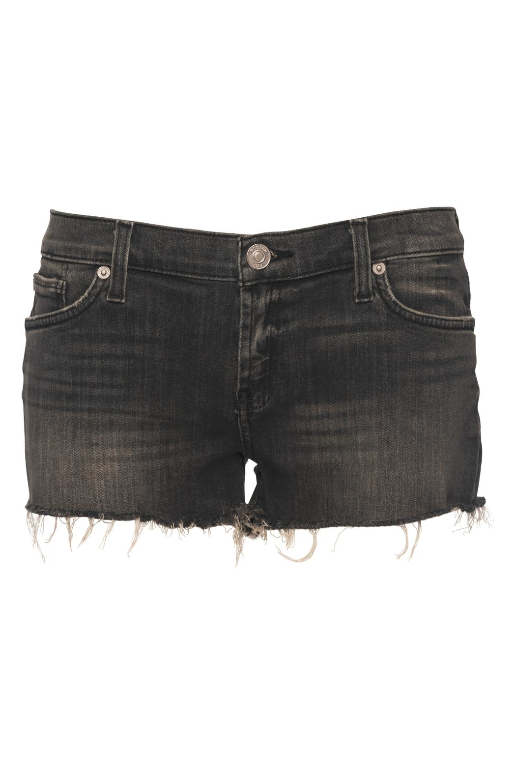 Hudson Jeans Kenzie Cut Off Shorts - Front Full Image