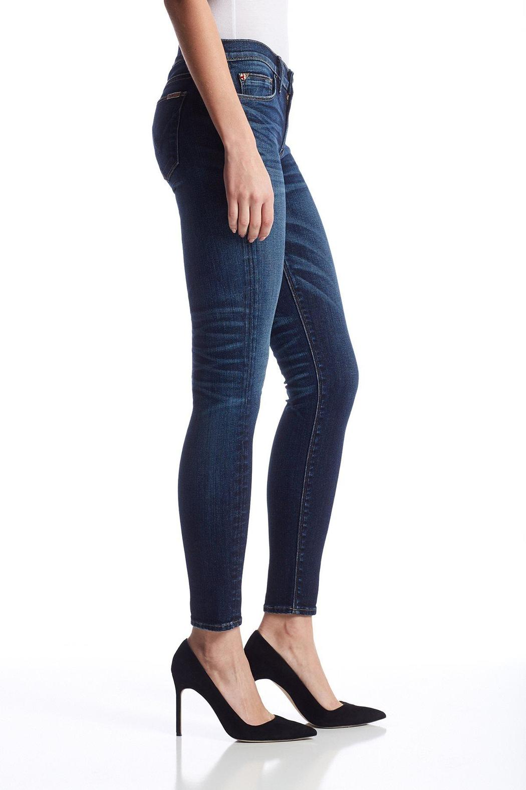 Hudson Jeans Krista Skinny Clearwater - Side Cropped Image