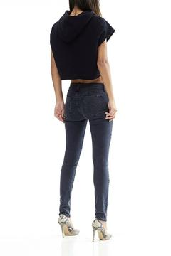 Shoptiques Product: Gray Ripped Skinny Jeans