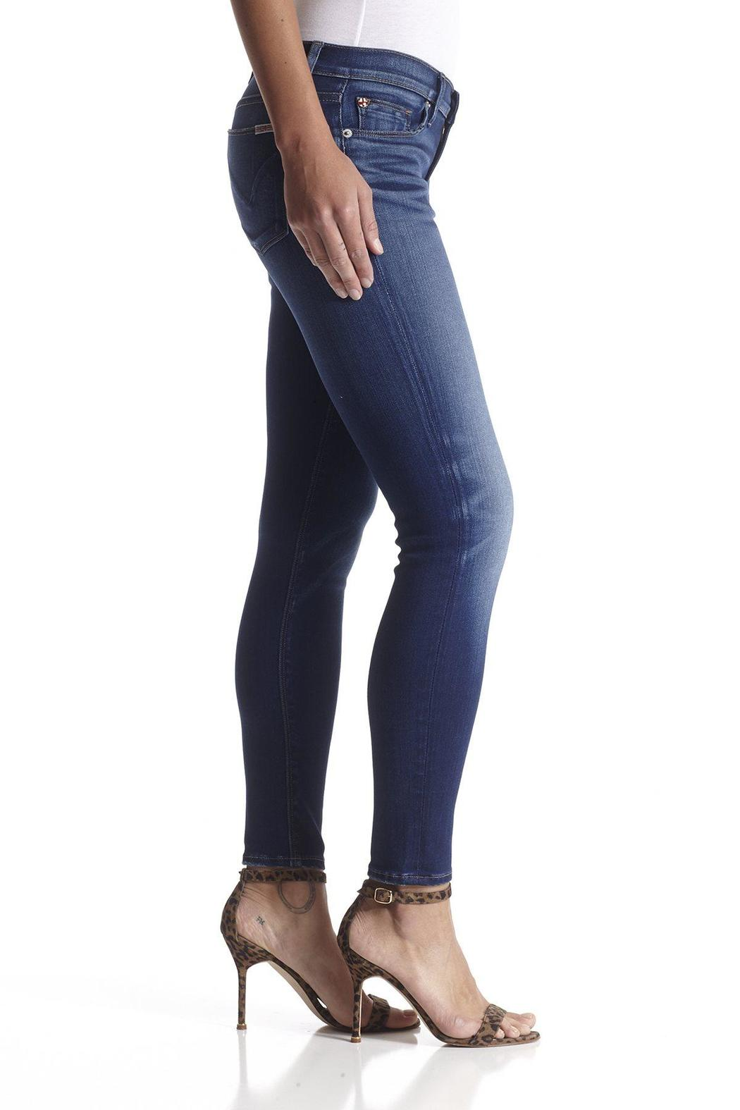 Hudson Jeans Krista Ankle-Skinny Fortress - Side Cropped Image