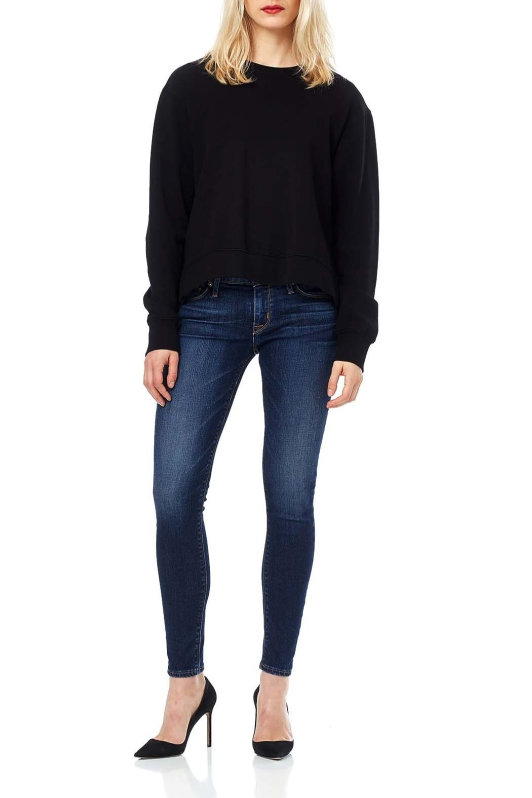 Hudson Jeans Krista Skinny Solo - Front Cropped Image