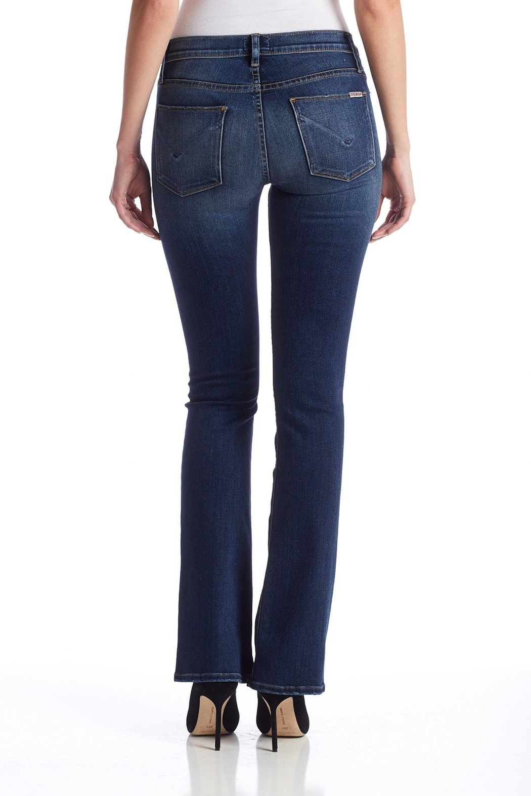 Hudson Jeans Love Midrise-Bootcut Revolt - Front Cropped Image