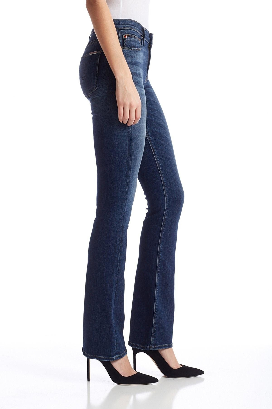 Hudson Jeans Love Midrise-Bootcut Revolt - Side Cropped Image