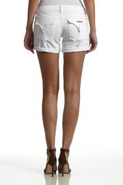Hudson Jeans White Backflap-Short - Front cropped