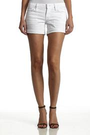 Hudson Jeans White Backflap-Short - Side cropped