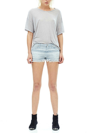 Hudson Jeans Midori Linen Short - Front cropped