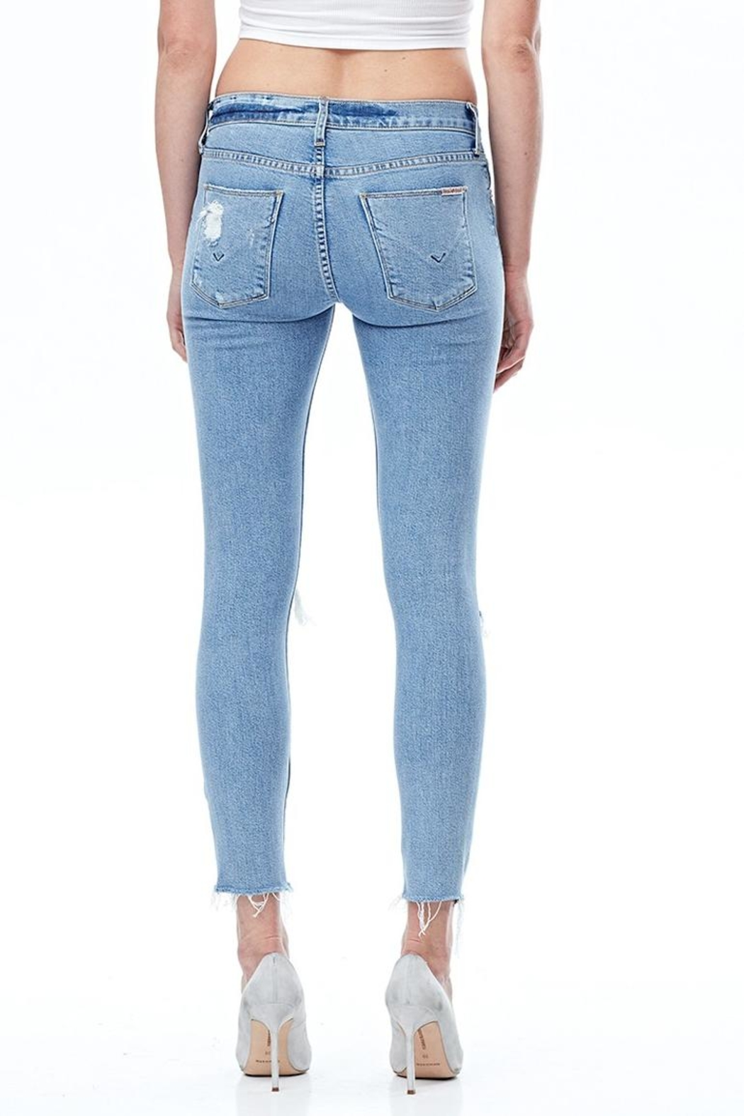 Hudson Jeans Nico Ankle Skinny Jeans - Side Cropped Image