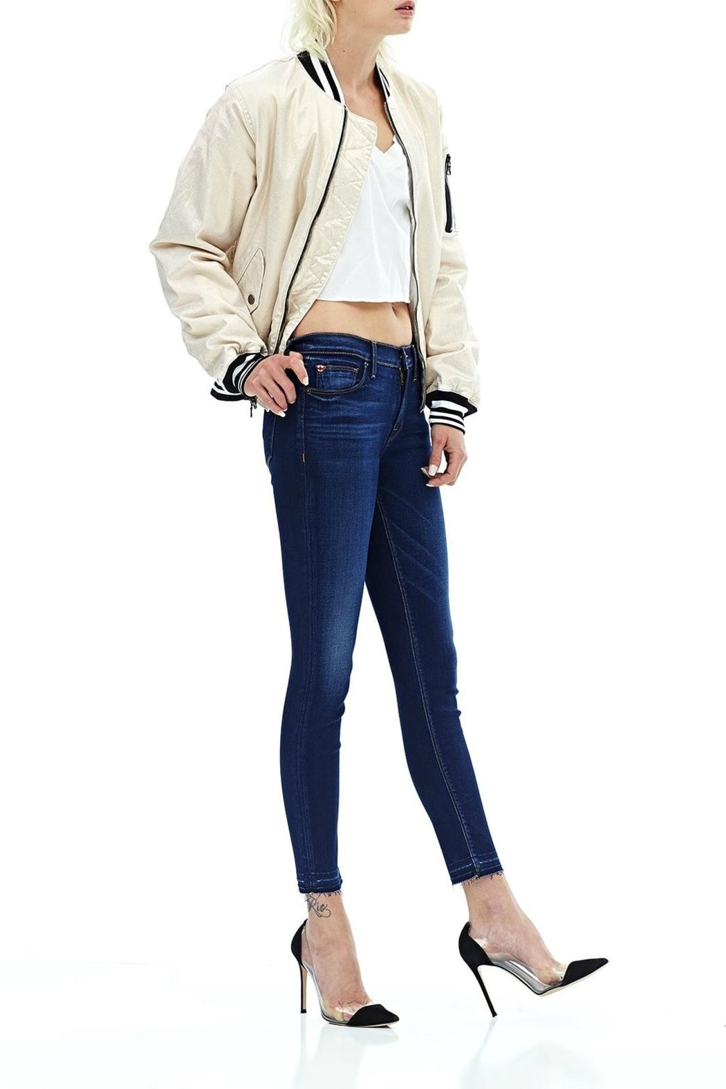 Hudson Jeans Released Hem Crop - Front Full Image
