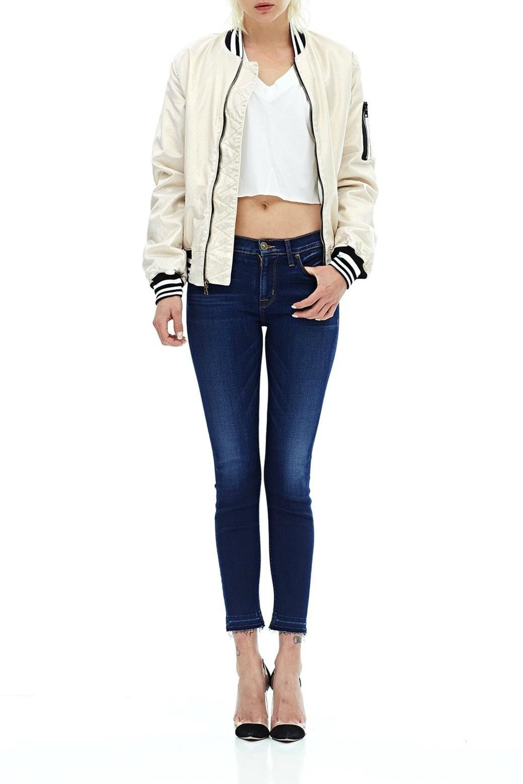 Hudson Jeans Released Hem Crop - Main Image