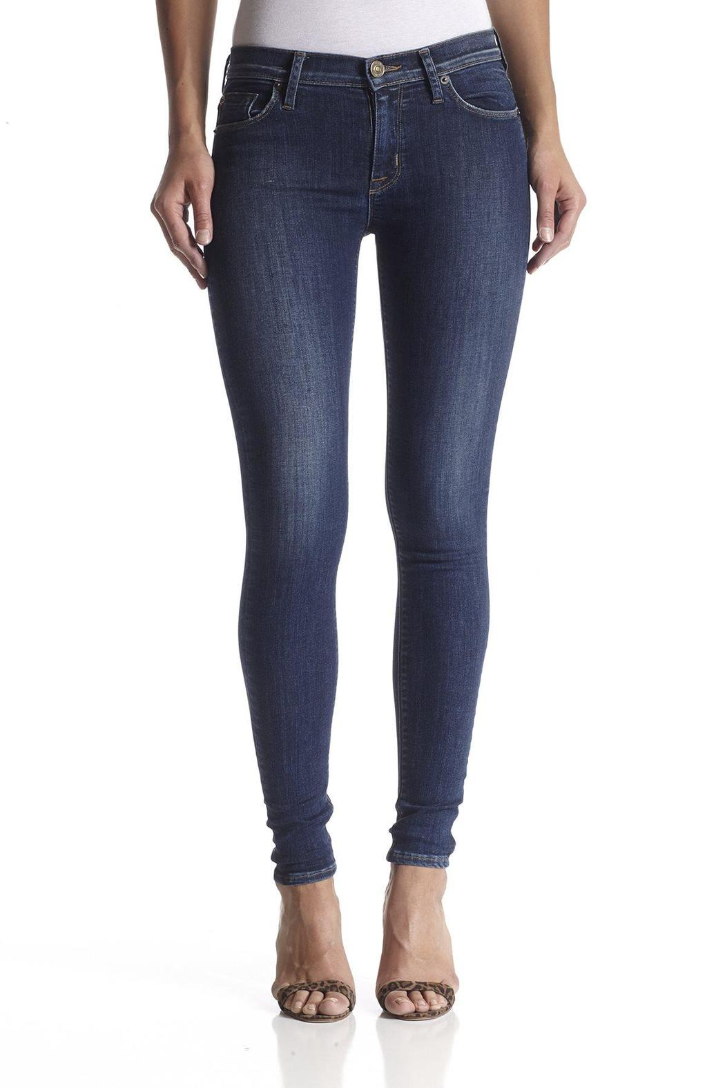 Hudson Jeans Nico Skinny Freestate - Front Cropped Image